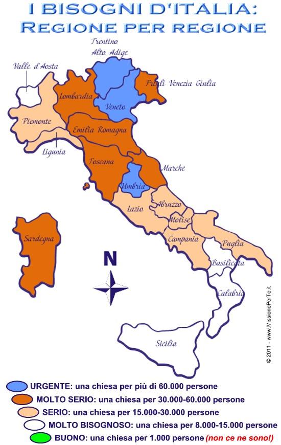 Mappa d'Italia