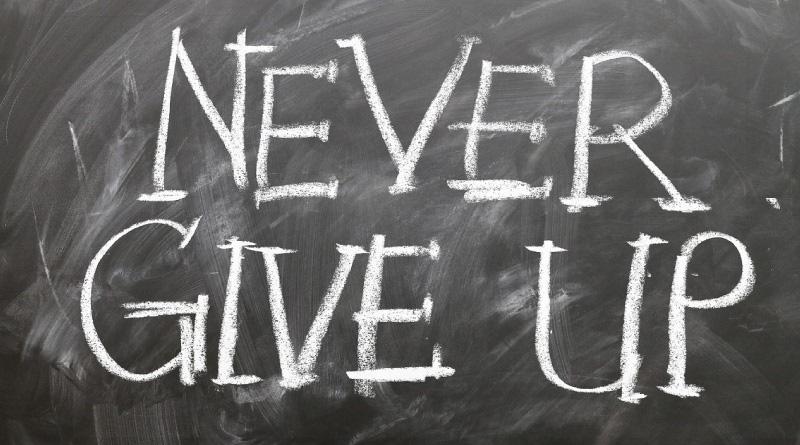 Non desistere mai